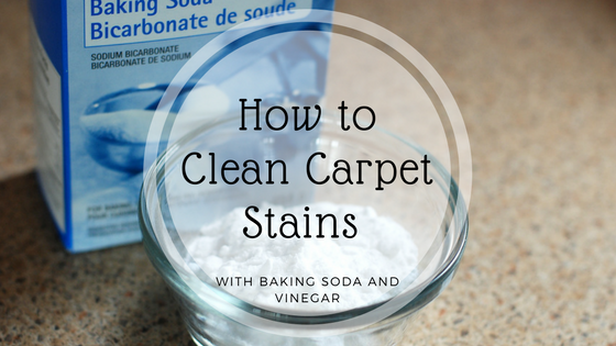 How To Clean Carpet Stains With Baking Soda And Vinegar