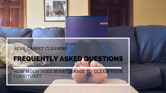 Frequently Asked Questions: How Much Does Bear Charge To Clean Furniture?