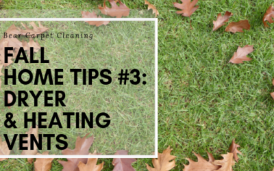 BEAR Fall Home Tips #3: Dryer & Heating Vents