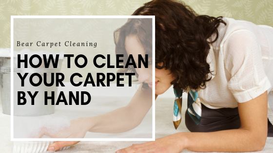 How To Clean Your Carpet By Hand